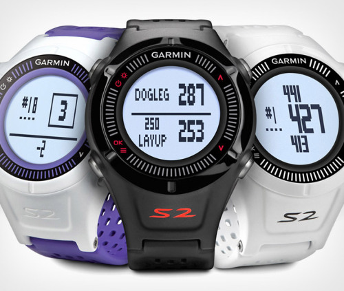 Garmin Approach S2 Golf Watch. Know the course like the back of your (cough) wrist.