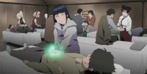 Hinata can use Medical Ninjutsu?! *shocked*