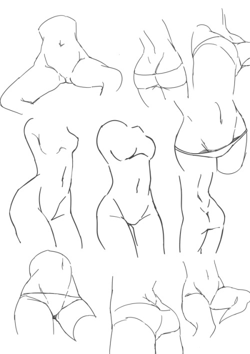 bunnyshadeow:  people asked for butts/crotches/hips/etc so here are they
