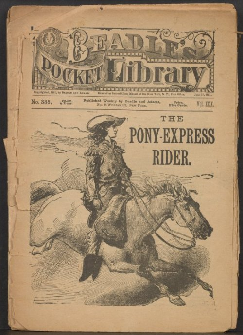 The first Pony Express took place in 1860 from Missouri to California. Did you know that contrary to what most believe, the Pony Express only ran for 18 months! There have been many myths surrounding the Pony Express over the years, mostly fueled by Buffalo Billy Cody and his Wild West Show. Check out an blog post written by NYPL to find out the truth about the Pony Express, along with a bibliography for those interested in learning more!