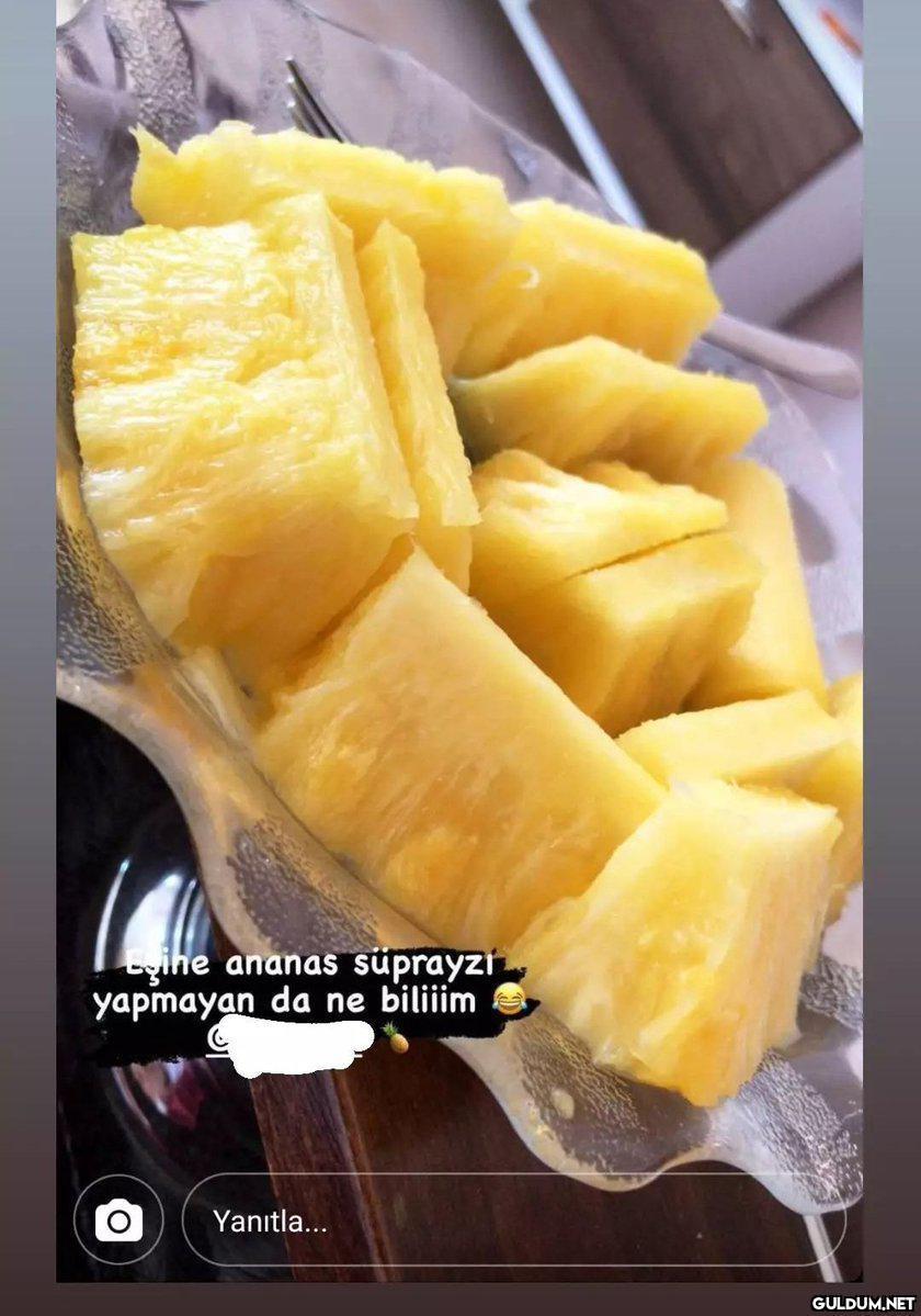 yihe ananas süprayzi...