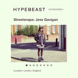 First female for the Streetsnaps section on @hypebeast shame people only have negative ish to say! Oh well! #juicegee #nofucksgiven #idresslikeaboy #streetstyle apparently I'm a tumblr bitch lol ✌✌✌