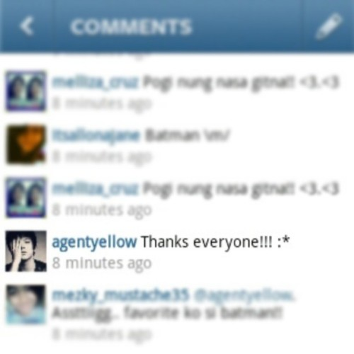 First comment! @agentyellow @imdanielpadilla #first #comment #firstcomment #danielpadilla #agentyellow