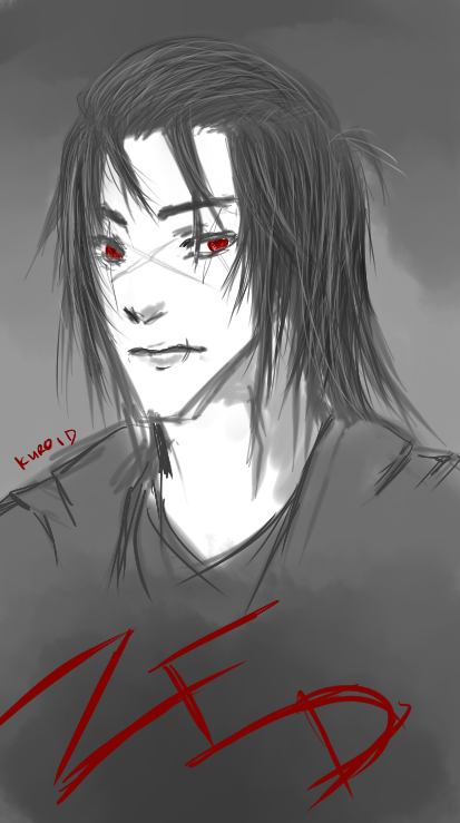 Head canon of Zed w/o his mask \o /~