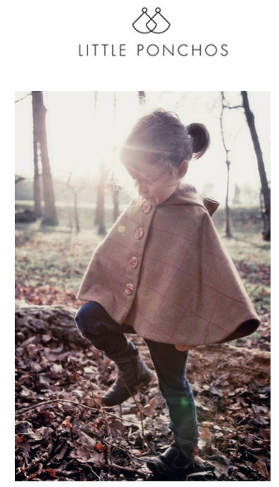 Little Ponchos Our feature brand this month Little Ponchos are kindly offering TheMiniPost readers 10%Off - just mention TheMiniPost at checkout  http://theminipost.tumblr.com/LittlePonchos