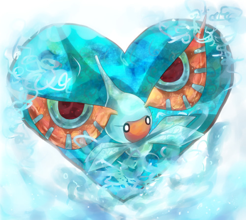 alternativepokemonart:  Artist Masquerain by request.