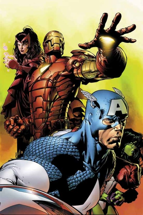 The Avengers By David Finch