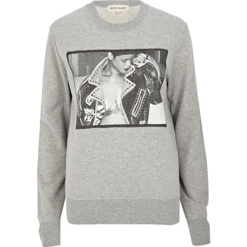 River Island hoody   ❤ liked on Polyvore (see more cotton sweatshirts)