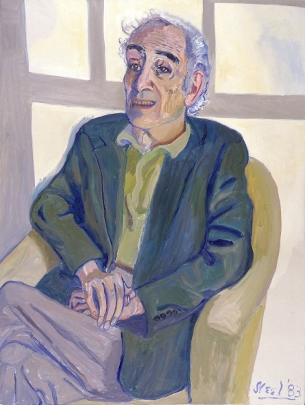 Painter Alice Neel was born today in 1900. Her depiction of art historian Meyer Schapiro (from our collection) stands at the end of a long line of psychologically penetrating portraits. By isolating her sitters in the comfortable setting of her studio and applying an expressive use of color, Neel sought to capture the individual characteristics of the public personalities that peopled her bohemia. http://ow.ly/h6STG