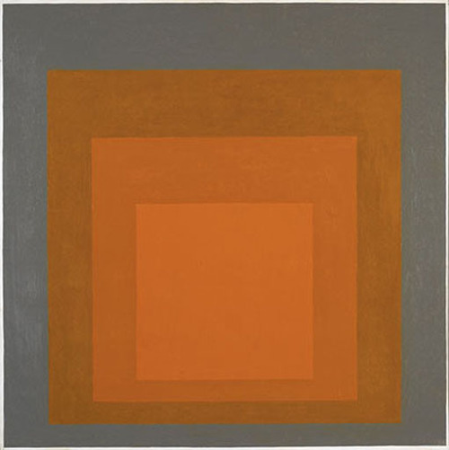 museumuesum:  Josef Albers Homage to the Square, 1966 Oil on masonite, 81.28 x 81.28 cm (32 x 32 inches)
