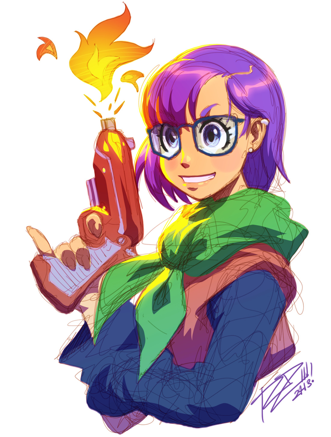 PYROMANIAC~ 30 Minute Lucca Breaksketch