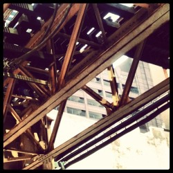 #exploring #traintracks #ltracks #subway #chicago #cta #architecture #photography #instadaily #iphonography #photoftheday #instacity