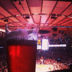 Madison. #beer #ommegang (at Madison Square Garden)