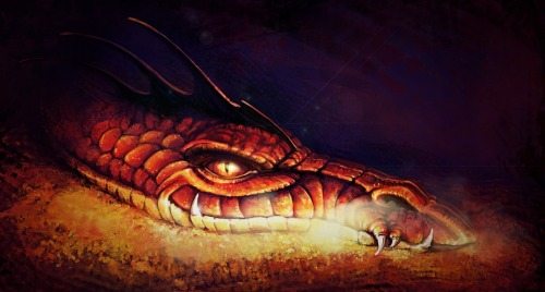 Smaug the Dragon by ~masterHalfling