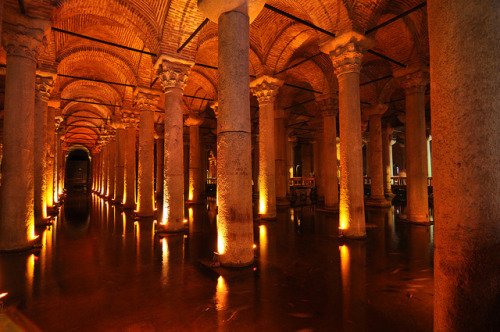 sapphire1707:  Fish in Basilica Cistern by benalesh1985 on Flickr.