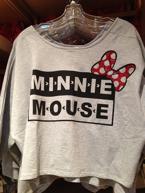 Disney goes grunge, again. nedraggett:  Smells Like Minnie Spirit on Flickr.