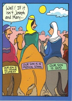 memesforjesus:  Well, if it isn't Mary and Joseph!  Man, if Mary and Joseph were Asian parents… :')