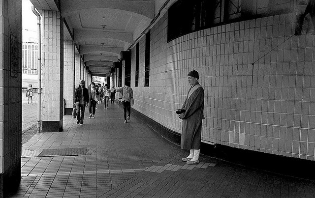 The monk on the street on Flickr.Zorki 4 Jupiter 12, Rollei Superpan 200@400