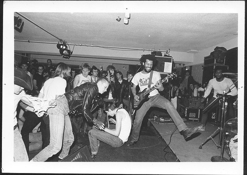 awesome-everyday:  imustconcentrate:  Bad Brains, Toronto, 198? by ivanrobertsdavis on Flickr.  In a few years, I'm going to start saying I was born in 198?.