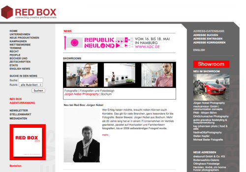 INTERVIEW MIT RED BOX