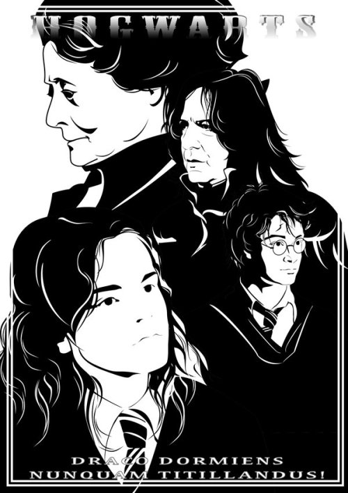 severus-snape-my-eternal-prince:  via Hogwarts by ~volkradugi on deviantART
