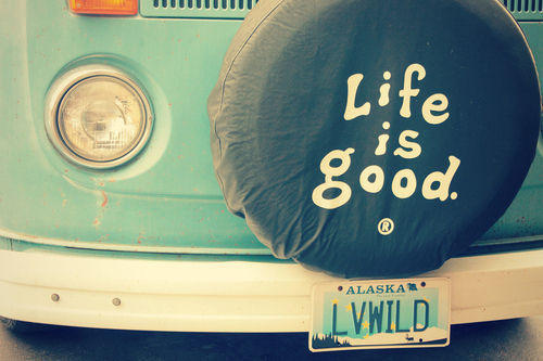 Life is good Decalz - Kam Estrada | Lockerz on We Heart It. http://weheartit.com/entry/61902167/via/rikrikrikrika