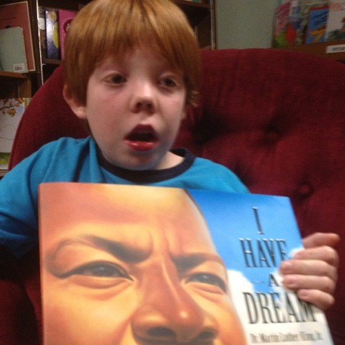 Jukie, too, has a dream.  (at The Avid Reader)