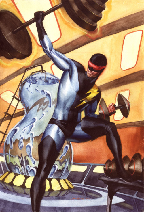 comicbookcovers:  Nexus by Steve Rude