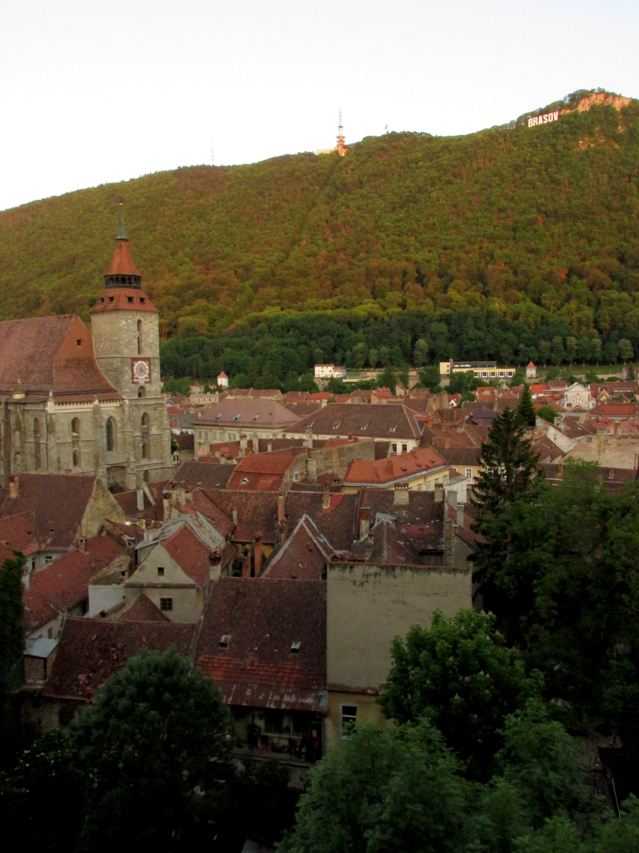 nonsensicalawesomnimityphoto:  View from the Black Tower. Brașov, Romania. May 2013.