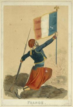 gunsandposes:  French soldier, 1829-1830. (NYPL)