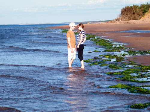 Young love. Is there anywhere quite as romantic as Prince Edward Island?