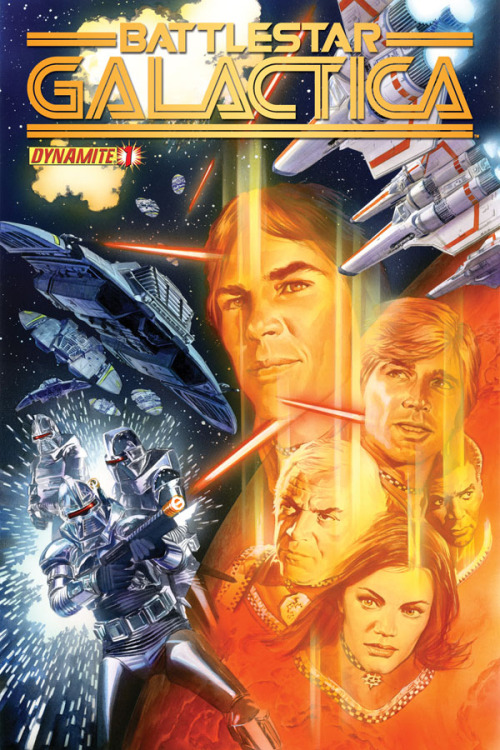 geeksofdoom:  Dynamite Entertainment brings classic Battlestar Galactica back, and our man Jimmy (PS Hayes) goes inside the first issue, out in stores today