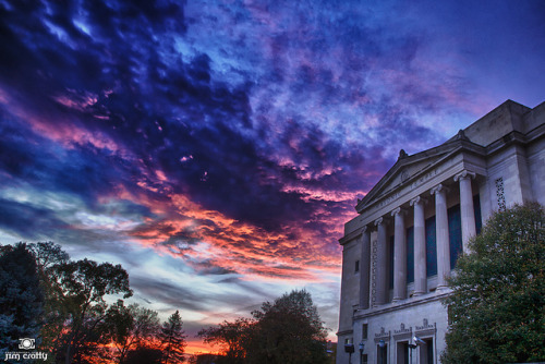October Sky over Dayton Masonic Temple on Flickr.Hold onto hope. There is so much more. More for which to be grateful.