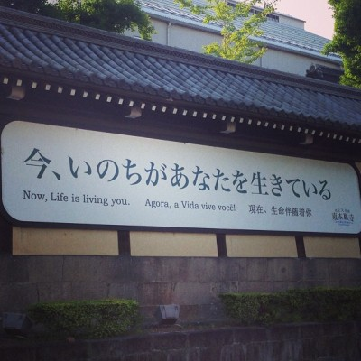 In constitutional monarchy Japan, life lives you! #kyoto