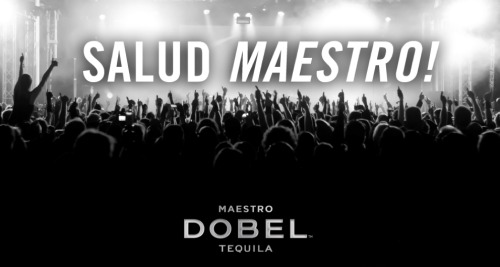 Feliz Cinco de Mayo from your friends at Maestro Dobel Tequila. Salud Maestro!