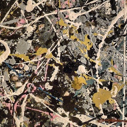 #jacksonpollock#moderart#abstract#art#painting#artoftheday#drippainting#lacma#texture