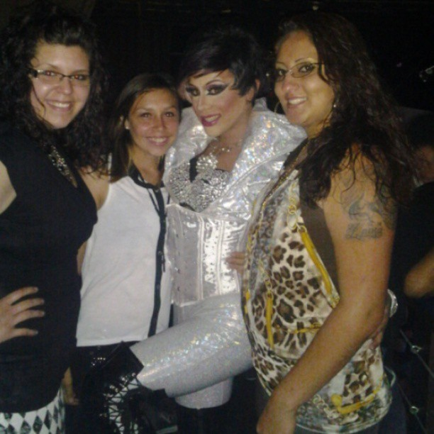 #badass #drag #ybor #queenofthenight #bestfriend