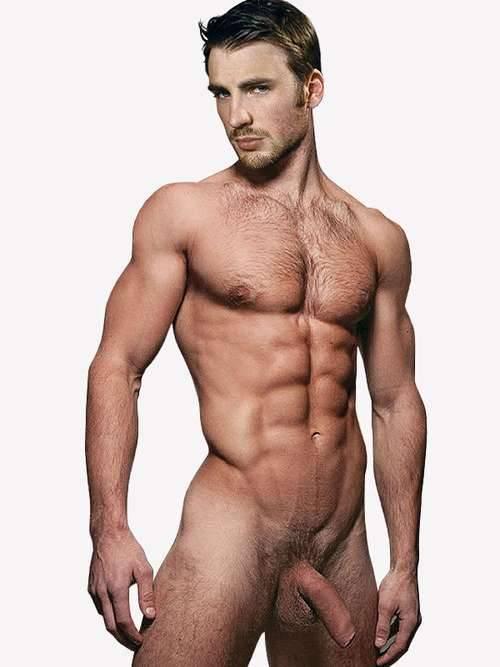 Chris Evans Nackt