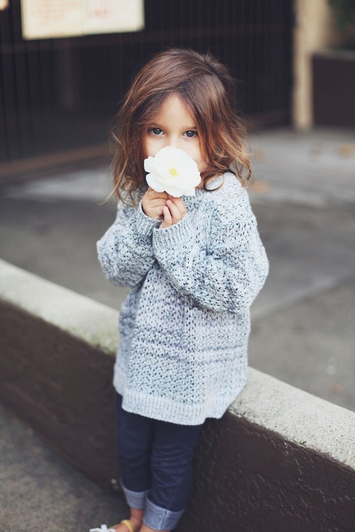Kids fashion: And you thought YOU knew all about chunky knits…