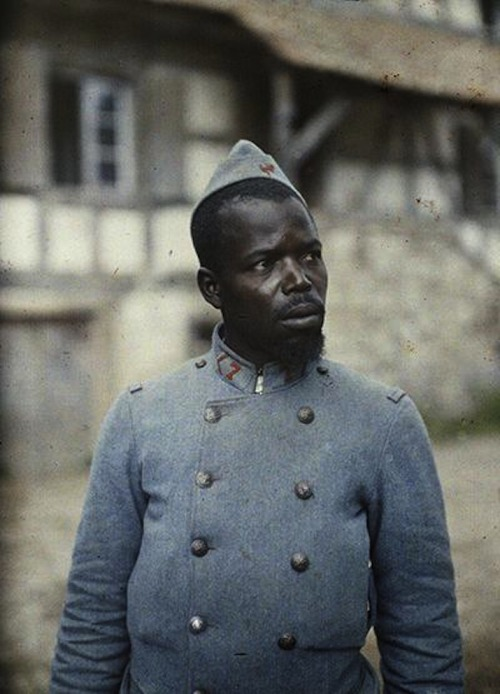 okayafrica:   GALLERY:The World War I In Africa Project On August 7, 1914, the first shot fired by British troops in World War I took place in Togoland (the German colonial protectorate now know as Togo) and is commonly attributed to sergeant-major Alhaji Grunshiof the Gold Coast regiment. Grunshi's act showcases rather clearly how the European dispute played out in its colonial territories abroad as well as the active involvement of Africans in the Great War. Yet despite this history, the story of WWI and how it has been popularly remembered has been one void of an African presence. Read More