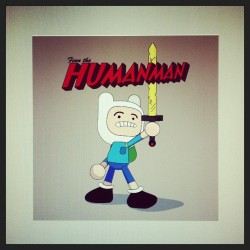Finn the Humanman tee design…