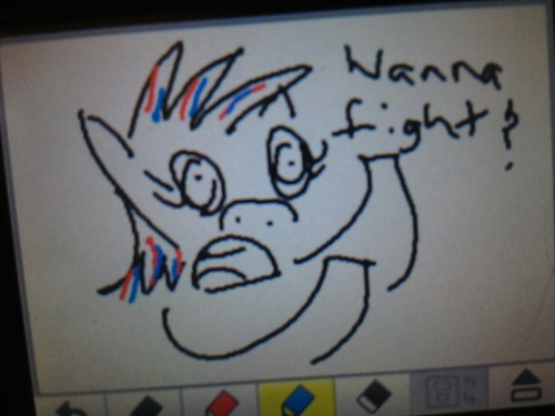 Drawn on Jack's 3DS