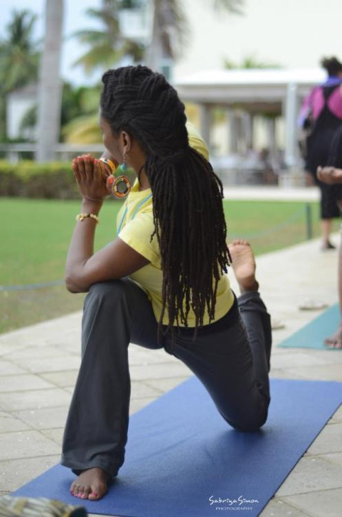 blackyogis:    Caribbean Yoga Conference  Takeyah Young  http://www.coreconnectionlifestyle.com/