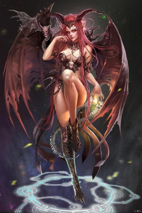 degeneratelowlife:  Death by Succubus …yes please