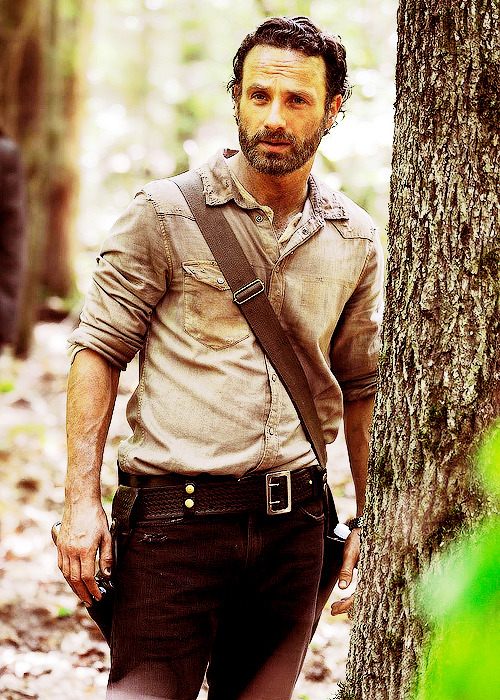 First Look at Season 4 of TWD: RICK GRIMES