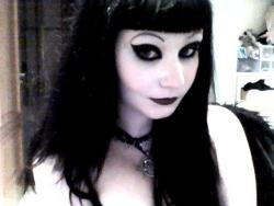 syntheticdoll:  A photo of me from back in 2010 when I had bangs. They lasted for 6 months.