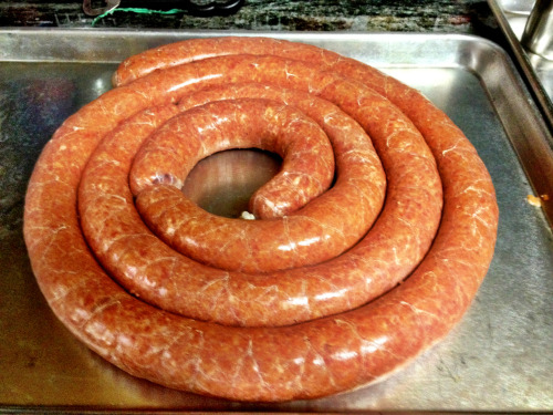 pork & veal sausage