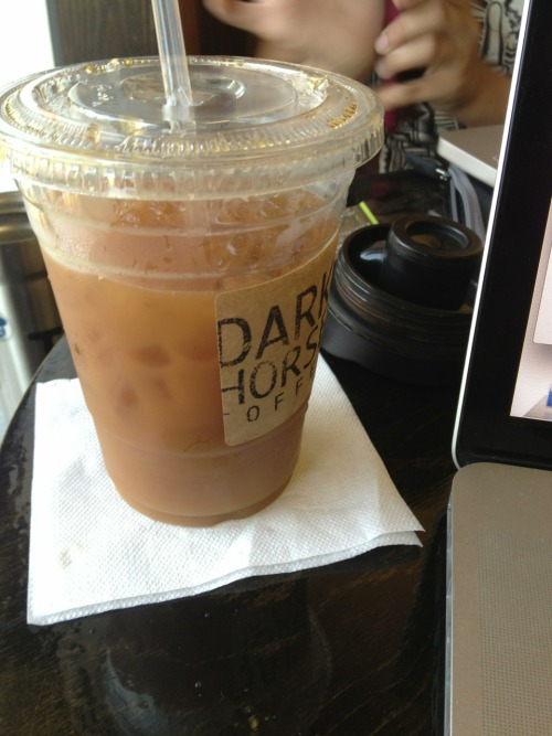 Dark Horse Coffee Cold Brew Light Half & Half Earthy, Nutty  Watch with: Your favorite indie film Listen with: Slow jam mixes