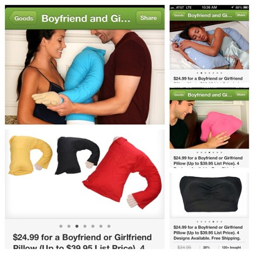 #groupon #boyfriend #girlfriend #pillow wtf!!!!!! @ochavezj this is creepy