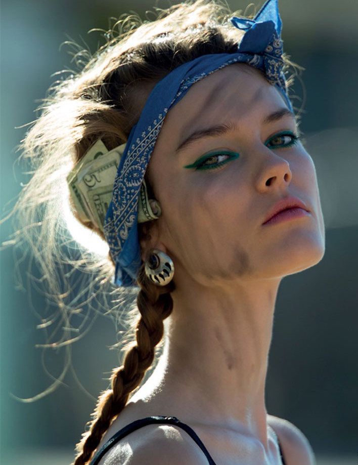 Jac Jagaciak by Hans Feurer for Antidote, spring 2013